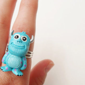Monsters Inc. Ring - James P. Sullivan (Sulley) Disney Pixar Jewelry