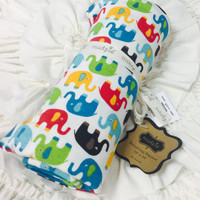 Elephant Layette Blanket