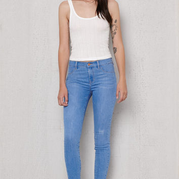 PacSun Mystic Blue Dreamy Jeggings at PacSun.com