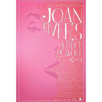 Joan Rivers: A Piece of Work 27x40 Movie Poster (2010)