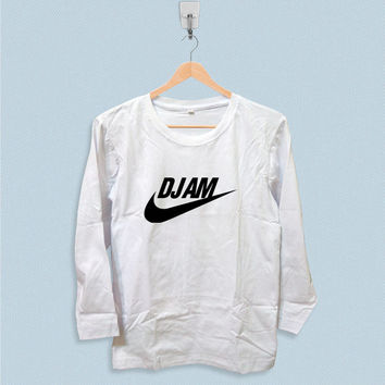Long Sleeve T-shirt - DJ AM Parody Logo