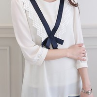 Elysee Lace Blouse