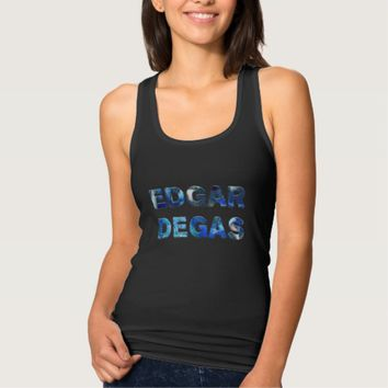 Edgar Degas French Impressionist Blue Dancers Tank Top