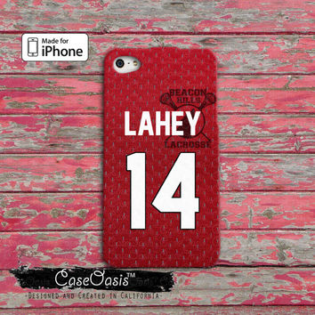 Teen Wolf Inspired Isaac Lahey Jersey Beacon Hills Lacrosse Alpha Symbol Custom iPhone 4 and 4s Case and Custom iPhone 5 and 5s and 5c Case