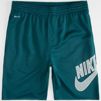 Nike Sb Sunday Mens Dri-Fit Sweat Shorts Teal Blue  In Sizes