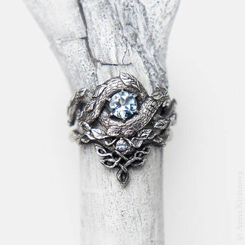 Shop Dragon Engagement Ring on Wanelo