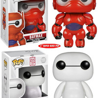 Big Hero 6 Baymax FUNKO POP 6 inch Vinyl Action Figure