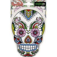 Flower Sugar Skull Sticker