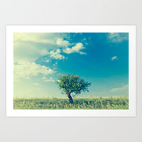 Tree Art Print by Esmer Olvera