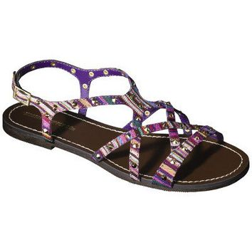 Women's Mossimo Supply Co. Leonore Flat Sandal -  Multicolor