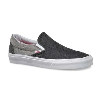 Vans Classic Slip-On Shoes in Wool Sport VN-018DH1C Men's Sizes