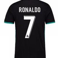 2018 new Real Madrid away black Soccer Jersey 17/18 Real Madrid CR7 Away black soccer shirt Ronaldo Bale Football uniforms Asensio sales