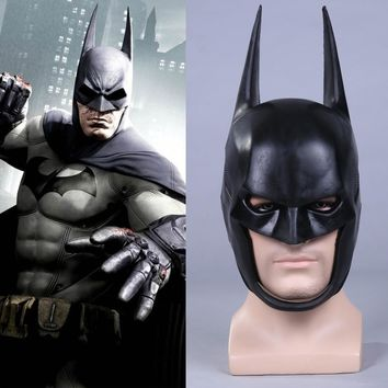 Movie Batman Arkham Knight Bat Helmet Superman Bruce Wayne Cosplay Mask Halloween Fancy Mask Props The Dark Knight 1:1 Vision