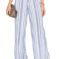 Tularosa Marley Pant in Blue & White