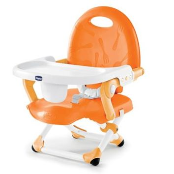 Chicco® Pocket Snack Booster Seat in Orange