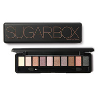 Sugar Box Glitter Gleam Eyeshadow Palette with Brush and Mirror