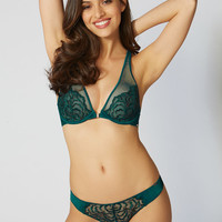 Eliza Briefs - Green Mix | Boux Avenue