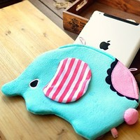 Cartoon Elephant IPAD Protective Sleeve