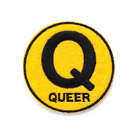 Queer Subway Sign Patch