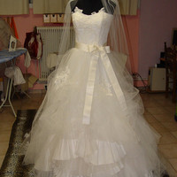 Vera Wang ElIZA inspired Wedding Gown - Ready To Ship