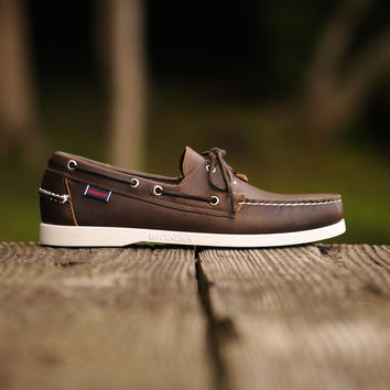 Sebago Docksides - Coffee Brown | 7 Shoes | Ronnie Fieg x Sebago