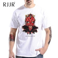 RJJR New 2017 Men Custom Tee Exclusive Custom T shirt Star War Funny Cool 14 Styles Fashion Tees For Men Women High Quality