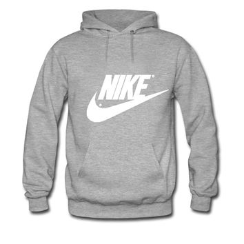 NIKE LOGO For womens Printed Sweatshirt Pullover Hoodies