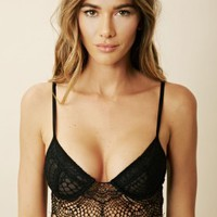 SKIVVES FOR LOVE AND LEMONS BAT YOUR LASHES UNDERWIRE BRA