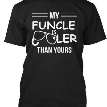 Funcle Funny Gift T Shirt For Niece Neph