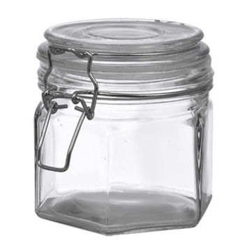 Bulk Large Glass Jars with Clasps, 17 oz. at DollarTree.com