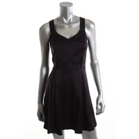BCBGeneration Womens Shimmer Sleeveless Clubwear Dress