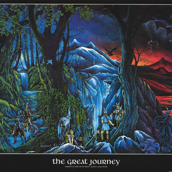 Lord of the Rings Great Journey Poster 25x36