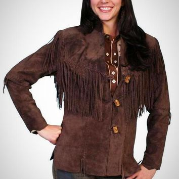 Scully Queen of the West Boar Suede Fringe Jacket ~ 5 Color Options!!!