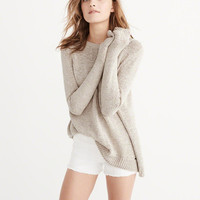 Womens Split Back Sweater | Womens New Arrivals | Abercrombie.com