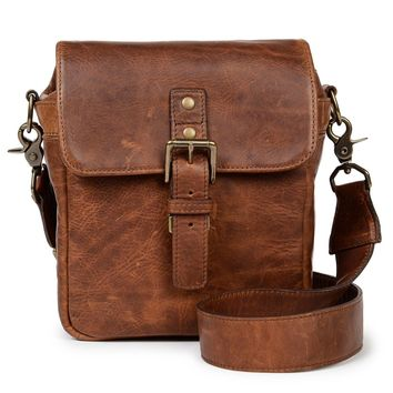ONA - Leather Bond Street Antique Cognac Messenger Bag
