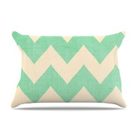 "Catherine McDonald ""Malibu"" Pillow Case"