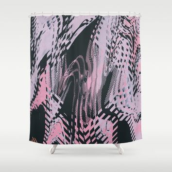 No Small Talk Shower Curtain by duckyb