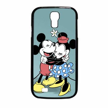 Mickey And Minnie Mouse Vintage Samsung Galaxy S4 Case