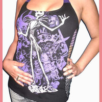 Jack Skellington the Pumpking King Nightmare Before Christmas Diy Halter Top