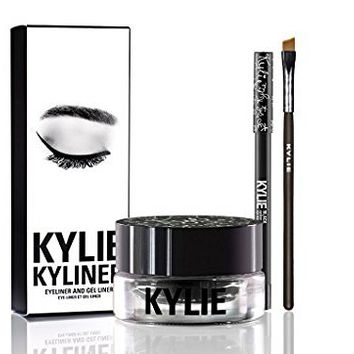 KYLIE KYLINER Eyeliner and Gel Liner Set Black