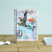 Boba Fett Ride Pony 2 Photo Notebook Auroid