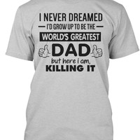 World's Greatest Dad T-Shirt, Father's