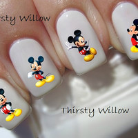 Disney Mickey Mouse Nail Decals
