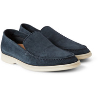Loro Piana - Summer Walk Suede Loafers | MR PORTER