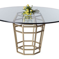 "Bagua 24"" Dining Table Base"