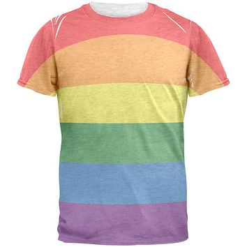 Rainbow Gay Pride Flag Mens T Shirt