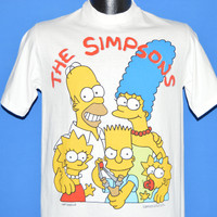 80s The Simpsons Family Bart Slingshot t-shirt Small