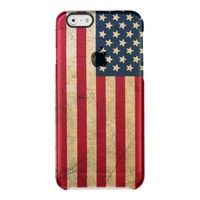 American Flag Uncommon Clearly™ Deflector iPhone 6 Case