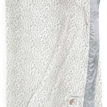 Giraffe at Home 'Luxe Snow Leopard - Double' Faux Fur Throw