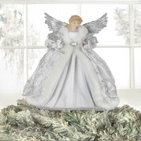 White Angel Doll & Christmas Tree Topper